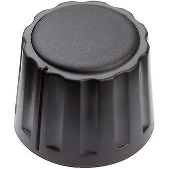 Mentor 4332.4000 bedieningsknop zwart (Ø x H) 20 x 15 mm 1 PC('s)