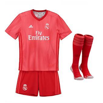 2018-2019 real Madrid Adidas terzo Mini Kit