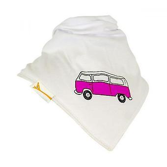 Vita & rosa retro husbil bandana bib