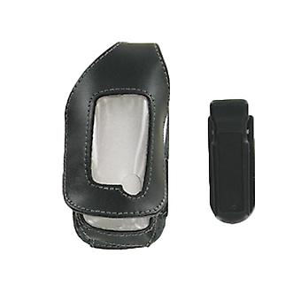 Wireless Solutions Premium Case/Holster with Ratcheting Belt Clip for Sony Ericsson Z520 - Black