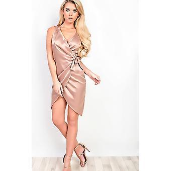 IKRUSH Womens Angeline Asymmetric Dress