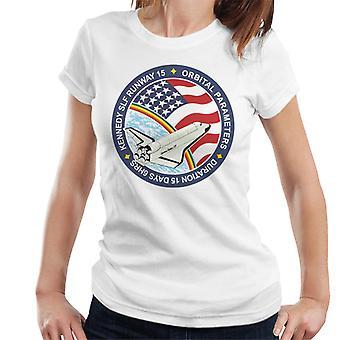 NASA STS 61B Space Shuttle Atlantis Mission Patch Women's T-Shirt