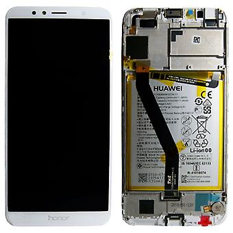 Huawei display LCD unit + Service Pack 02351WER white frame for honor 7A new