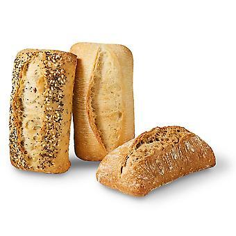 Bridor congelato misto Rectanglular panini