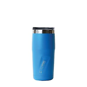 EcoVessel METRO TriMax Insulated Stainless Steel Tumbler - Island Blue 16 oz
