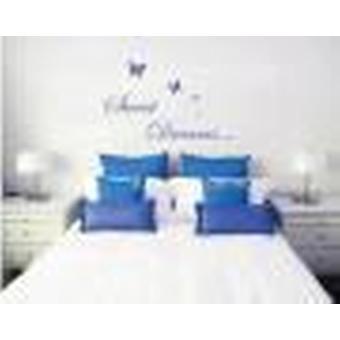 Sweet Dreams Butterlies Bedroom Wall Sticker