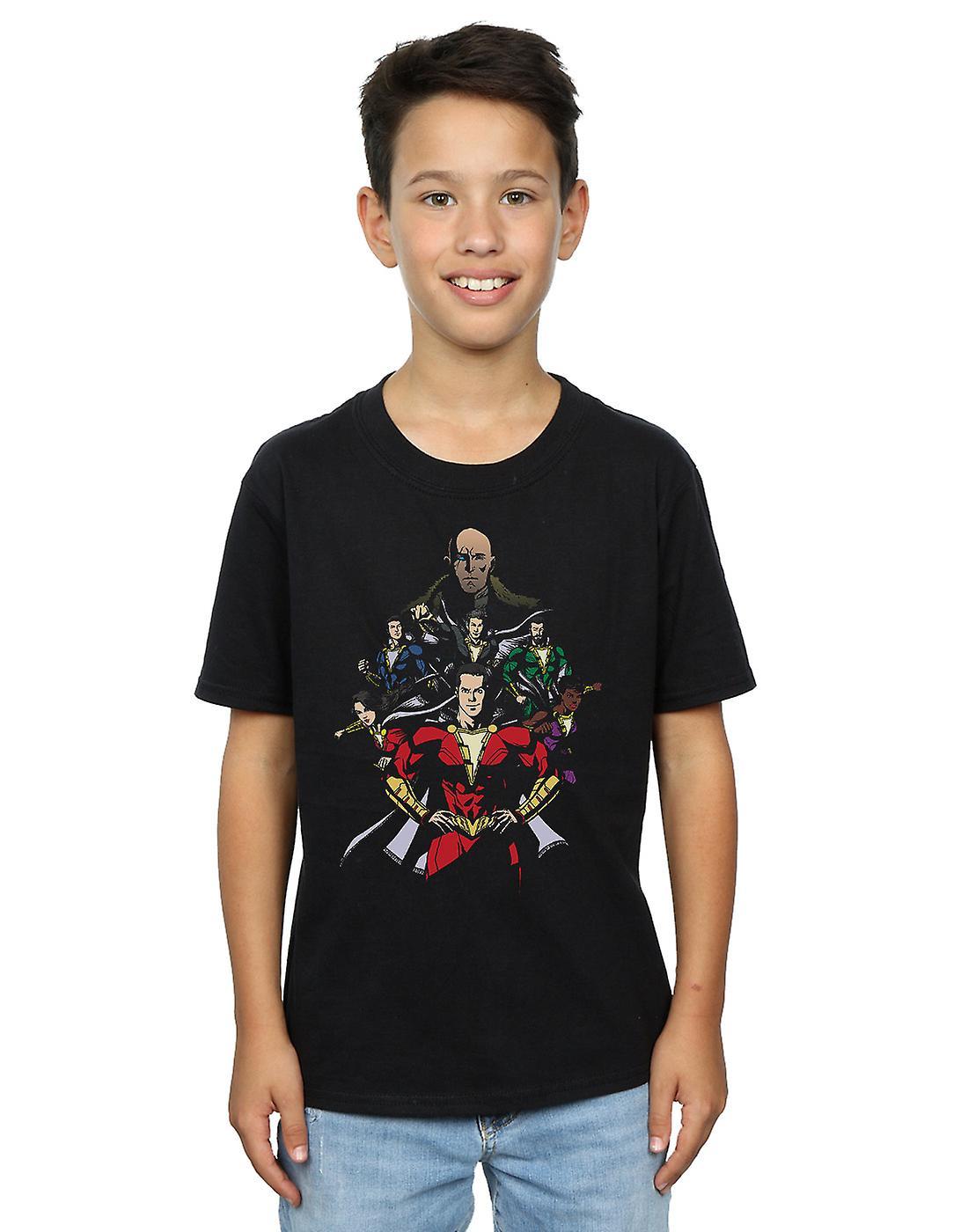 DC Comics Boys Shazam Team Up T-Shirt