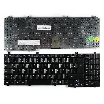 Alienware Area-51 M9700 / 9700 negro teclado de ordenador portátil de reemplazo de diseño alemán