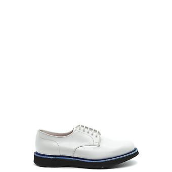 Church's Ezbc004067 Men's White Leather Lace-up Shoes