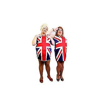 Union Jack slijtage Union Jack Mens Fancy Dress