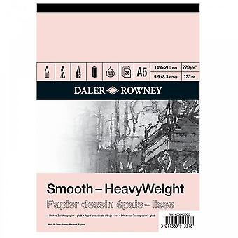 Daler Rowney HeavyWeight Cartridge gummerat Pad A5