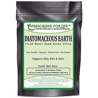 Diatomaceous Earth - Fresh Water Food Grade Silica (Fossil shell flour) ING: Organic Powder