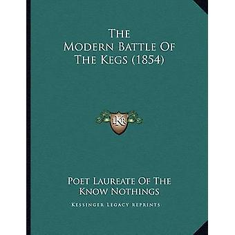 The Modern Battle of the Kegs (1854) by Poet Laureate of the Know Not