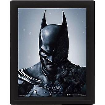 Batman kehystetty 3D-kuva