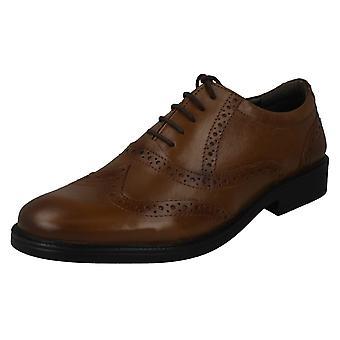 Mens Hush Puppies Formal Shoes Rockford Brogue