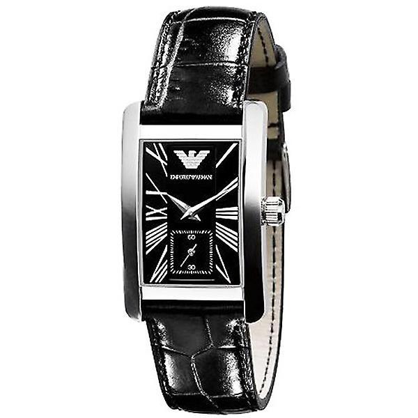 Emporio Armani Ar0144 - Ladies Classic Leather Strap Designer Watch