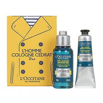 L Occitane L'Homme Cologne Cédrat Duo