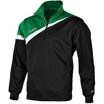 Mitre Polarize 1/4 Zip Poly Top Shirt For Boys