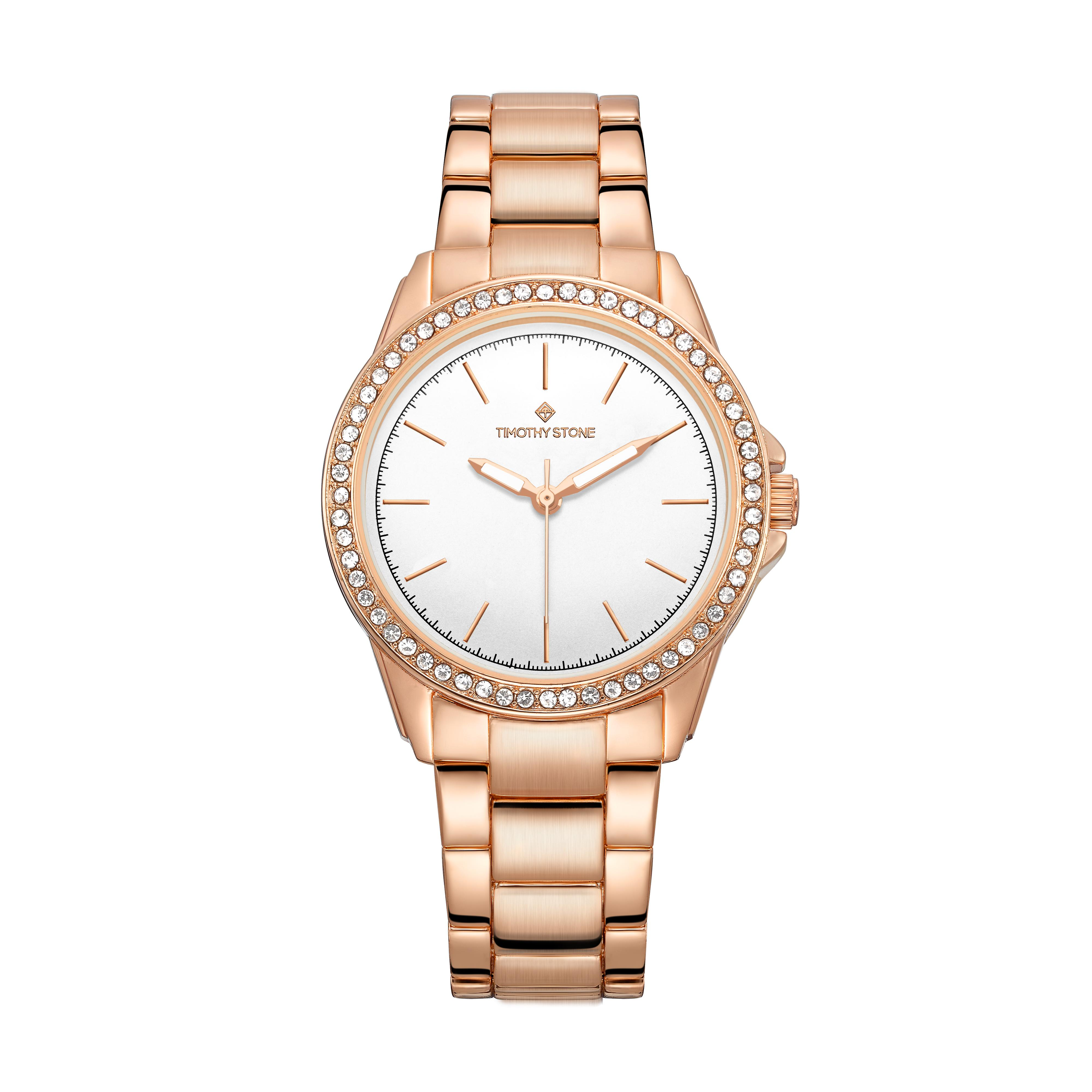 Timothy Stone Women's KATY Rose Gold-Tone Watch