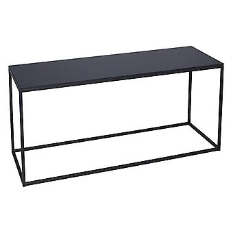 Gillmore Black Glass e Black Metal Contemporary TV Stand