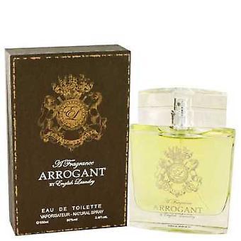 Arrogant By English Laundry Eau De Toilette Spray 3.4 Oz (men) V728-462373