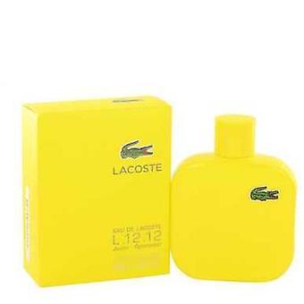 Lacoste Eau De Lacoste L.12.12 Jaune Von Lacoste Eau De Toilette Spray 3.4 Oz (Herren) V728-518216