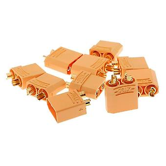 5 Pairs XT90 Male Female Bullet Connectors Plugs For RC Lipo Battery