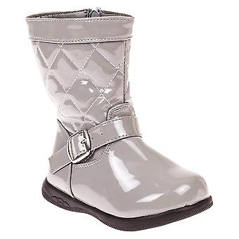 VeeVee Toddler Girls Quilted Fashion Boot with Lug Sole