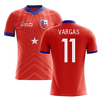 2020-2021 Chili Home Concept Football Shirt (Vargas 11)