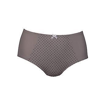 Anita 1372-462 Women's Comfort Venecia Dusty Grey Geometric Full Panty Highwaist Brief