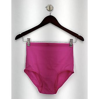 Carol Wior Panties Microfiber Belly Band Shapewear Brief Pink A00107