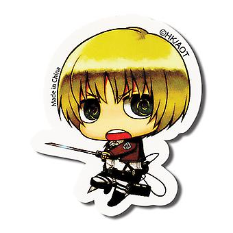 Sticker - Attack on Titan - New SD Armin Toys Anime Licensed ge55299