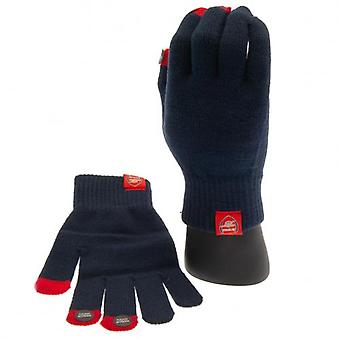 Arsenal Knitted Gloves Adults