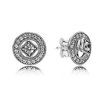 Pandora Silver Women's Stud Earrings - 290721CZ