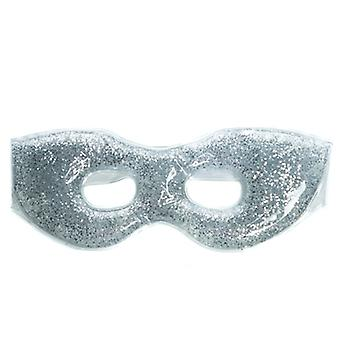 Danielle Silver Glitter Soothing Gel Eye Mask