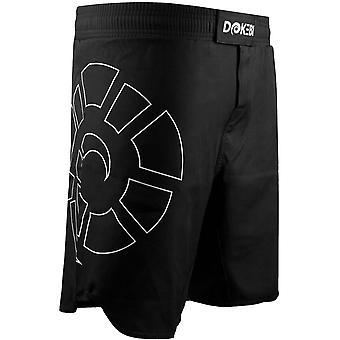 Dokebi Combat Ready BJJ Fight Shorts - Black