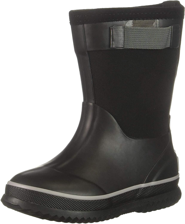 Northside Boys ' Neo Rain Boot Svart/grå 6 Medium Us Pjokk