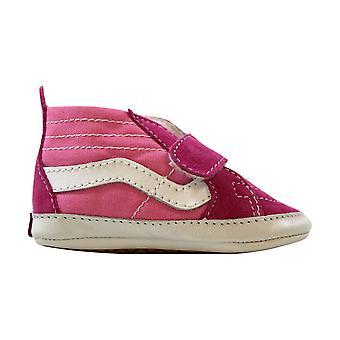 Vans Sk8-Hi Crib Pink/Hot Pink VN-0 18PH1S Toddler