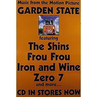 Giardino Stato (Colonna sonora) Poster originale cinema
