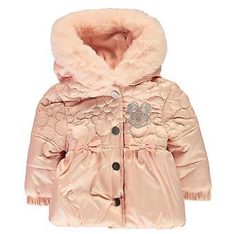 Karaktär Kids Barnvadderad Hooded varm päls vinter ytterkläder