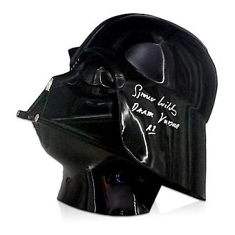 Spencer Wilding Signed Darth Vader Helmet