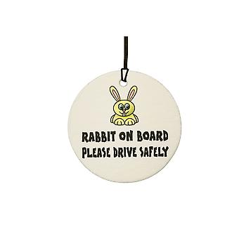 Rabbit On Board Car Air Freshener