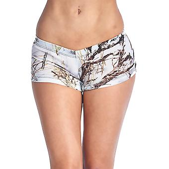 Authentic True Timber White Shorts