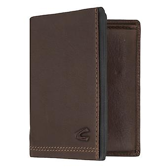 Camel active mens wallet wallet purse with RFID-chip protection Brown 7297