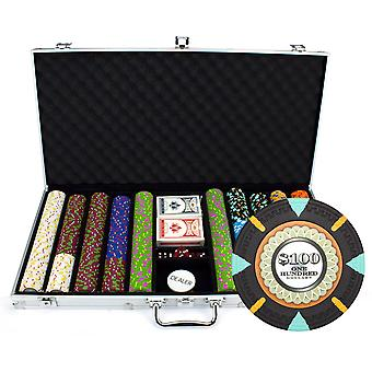 750Ct Claysmith Gaming 'The Mint' Chip Set in Aluminum Case