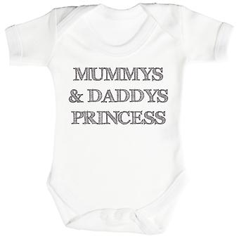Mummys & Daddys prinses Baby Romper / Babygrow