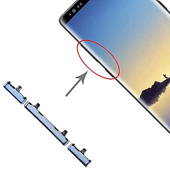 For Samsung Galaxy Note 8 Sidekeys SideButtons Blue Spare Part Accessories Repair