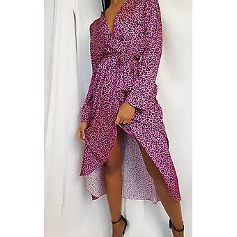 IKRUSH Womens Yana Printed Floaty Maxi Dress