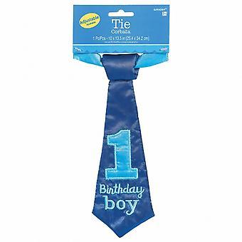 Amscan 1st Birthday Boy Tie