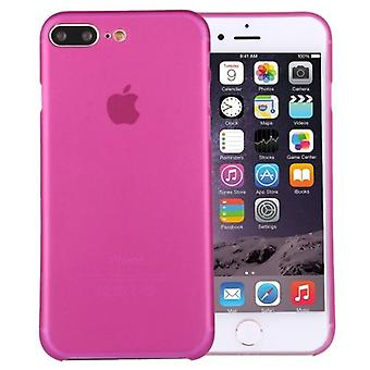 Dla iPhone 8 PLUS,7 PLUS Case, Elegancki Ultra-cienki Super-light Tough Cover, Magenta